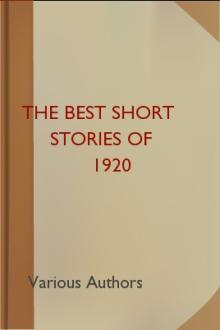 The Best Short Stories of 1920