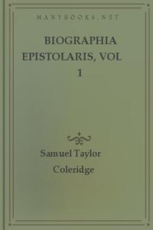 Biographia Epistolaris, vol 1