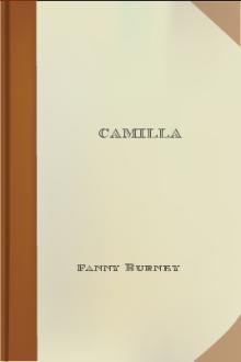 Camilla by Madame D'Arblay