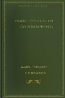 Essentials in Conducting by Karl Wilson Gehrkens