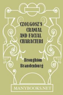 Czolgosz's Cranial and Facial Characteristics
