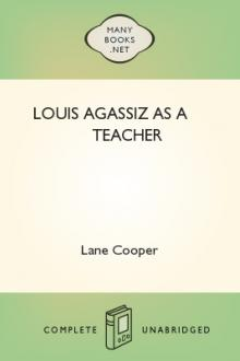 Louis Agassiz as a Teacher