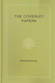 The Coverley Papers by Joseph Addison, Sir Steele Richard, Eustace Budgell