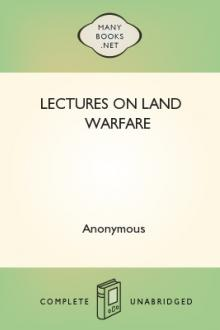 Lectures on Land Warfare by Anonymous