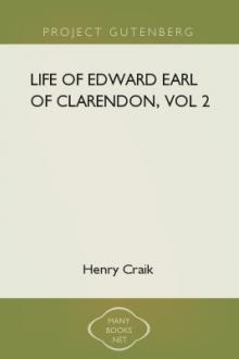 Life of Edward Earl of Clarendon, vol 2