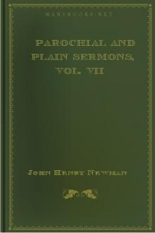 Parochial and Plain Sermons, Vol. VII