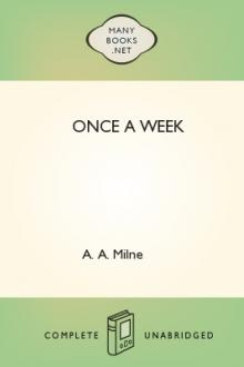 Once a Week by A. A. Milne