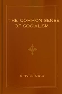 The Common Sense of Socialism by John Spargo