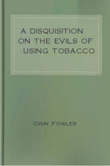 A Disquisition on the Evils of Using Tobacco