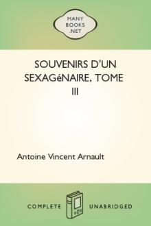 Souvenirs d'un sexagénaire, Tome III