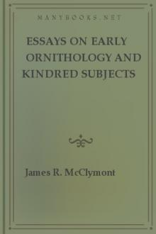 Essays on early ornithology and kindred subjects by James Roxburgh McClymont