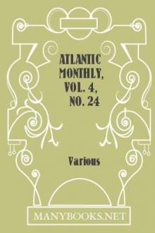 Atlantic Monthly, Vol. 4, no. 24 October 1859 by Various