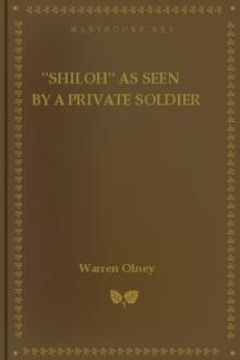 ''Shiloh'' as Seen by a Private Soldier by Warren Olney