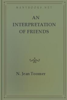 An Interpretation of Friends Worship by N. Jean Toomer