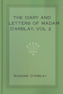 The Diary and Letters of Madam D'Arblay, vol 2 by Madame D'Arblay