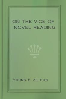 On the Vice of Novel Reading