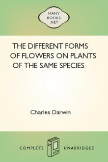 The Different Forms of Flowers on Plants of the Same Species by Charles Darwin
