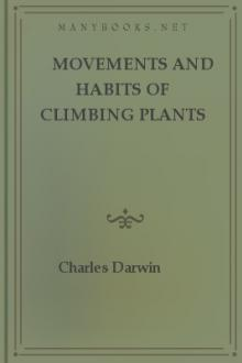 Movements and Habits of Climbing Plants by Charles Darwin