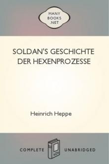 Soldan's Geschichte der Hexenprozesse