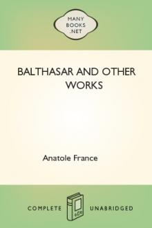 Balthasar and Other Works by Anatole France