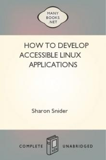 How to Develop Accessible Linux Applications