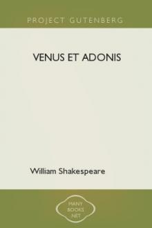 Venus et Adonis by William Shakespeare