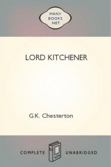 Lord Kitchener by G. K. Chesterton