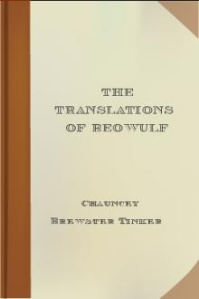 The Translations of Beowulf by Chauncey Brewster Tinker
