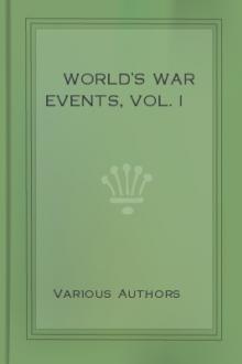 World's War Events, Vol. I