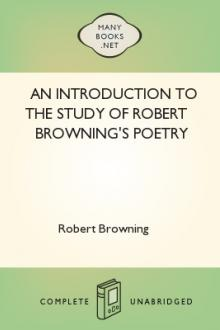 An Introduction to the Study of Robert Browning's Poetry by Hiram Corson, Robert Browning