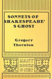 Sonnets of Shakespeare's Ghost