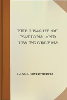 The League of Nations and its Problems