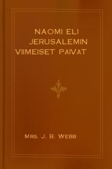 Naomi eli Jerusalemin viimeiset päivät