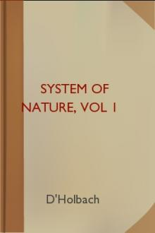 System of Nature, vol 1