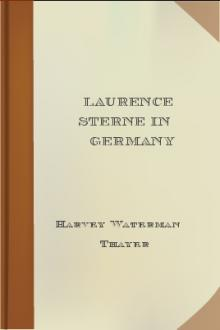 Laurence Sterne in Germany