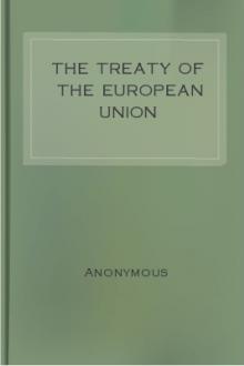 The Treaty of the European Union [Maastricht]