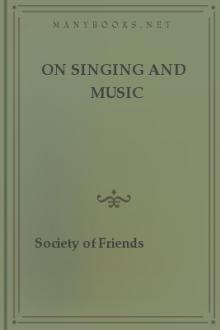 On Singing and Music by Society of Friends