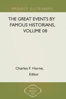 The Great Events by Famous Historians, Volume 08