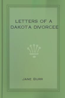 Letters of a Dakota Divorcee