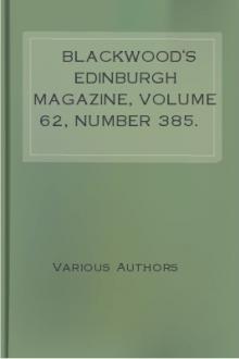 Blackwood's Edinburgh Magazine, Volume 62, Number 385. November, 1847.
