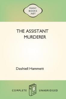 The Assistant Murderer by Dashiell Hammett