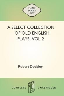 A Select Collection of Old English Plays, vol 2