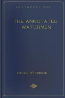 The Annotated Watchmen by Doug Atkinson