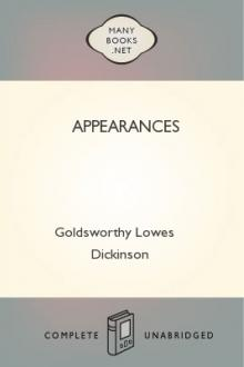 Appearances by Goldsworthy Lowes Dickinson