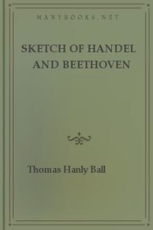 Sketch of Handel and Beethoven by Thomas Hanly Ball