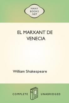 El Marxant de Venecia by William Shakespeare