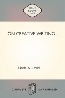 On Creative Writing by Linda A. Lavid