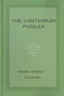 The Canterbury Puzzles by Henry Ernest Dudeney