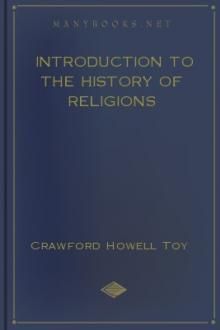 Introduction to the History of Religions by Crawford Howell Toy