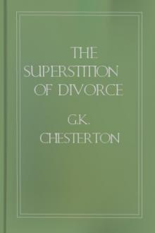 The Superstition of Divorce by G. K. Chesterton